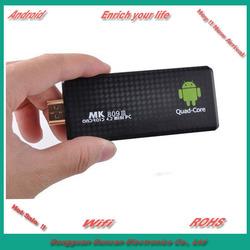 RK3188 quad core TV Dongle MK809iii Android 4.2 MINI PC 1.8GHz 2GB RAM 8GB ROM Bluetooth