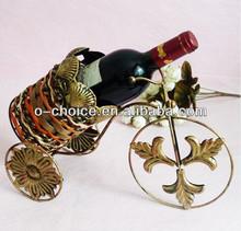 Most Popular Bar Counter Metal Single Wine Bottle Holder