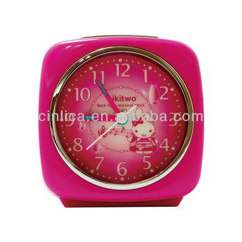 fancy alarm clock/musical alarm clocks for kids/travel alarm clock