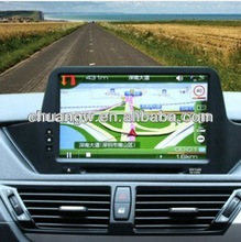 High quality bmw gps dvd hd touch screen car GPS with android system car Navigation for bmw x1