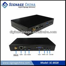 SC-8028 3g free digital signage solution