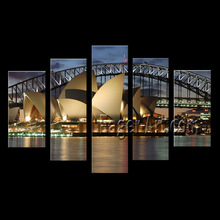 Famous Building Syney Opera House Digital image printing