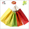 Blank Shopping Paper Gift Bags With Pantone Color Printing