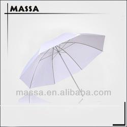 """33"""" Studio Flash Translucent White Diffuser Photo Soft translucent umbrella"""