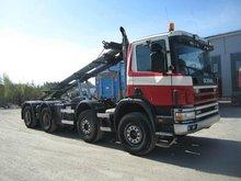 Scania P114 8X4 Roll-off tipper (LHD 91946 DIESEL)