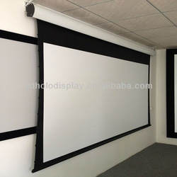 "Electric Tab Tensioned Screen 150""/Home Theatre Tab Tension screen/Grandview High Quality Cinema Projector Screen"
