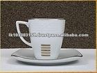 Hot Sale Fine Porcelain Tea Cup With Saucer