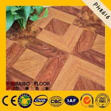pure white laminate wood deck dance flooring material