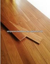 Deep Honey Color Solid Oak Hardwood Flooring