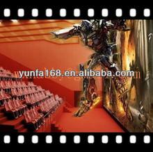 Cinema 7d simulator kino manufacturer with CE