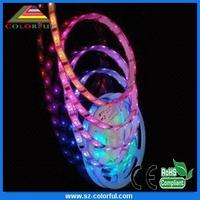 Warm white flexible led strip lights led strips lights non-waterproof high power led strip lens