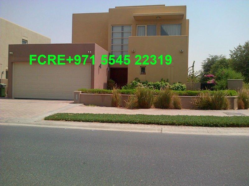 DUBAI-Arabian Ranches Saheel Type 8 (3bed+maid+family) Corner Villa for SALE 3.5Ml