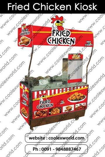 Fried chicken kiosk