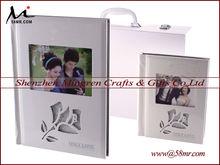 2013 New Digital Wedding Photo Album Cover,Toughened Acrylic Glass Crystal Album Cover Design