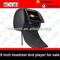 "Hot sale 9"" car headrest mount portable dvd player"