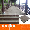 China zhejiang factory CE outdoor flooring solid hollow woodgrain groove WPC decking