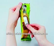 custom resealable plastic bags for food