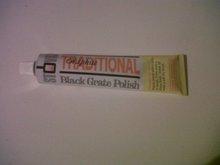 Stovax Black Grate Polish (Cast Iron Polish) Tubes