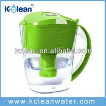 food grade AS BPA-free alkaline decorative glass pitcher
