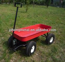 All-terrain Kids Metal Wagons Hand Cart TC4241