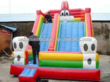 inflatable giant digger slide/ Hotsale slip and slide inflatable