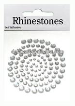 Promotion custom diy rhinestone/diamond/acrylic mobile phone sticker