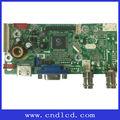 Hot Selling TV placa pode ser utilizado para carros, Monitor Industrial série Support4 : 3 e 16:9 de exibição interruptor de modo