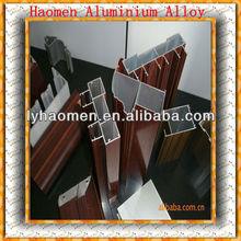 Chine profilés en aluminium led alliage pour portes et fenêtres