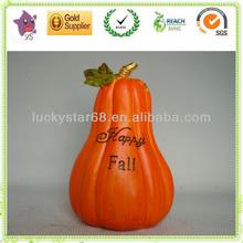 resin pumpkin for Harvest festival decoration