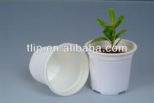 100% biodegradable flower pot, corn starch