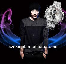 2013 latest design geneva quartz advance watch