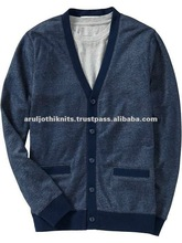 COTTON MEN'S FULLOPEN CARDIGAN