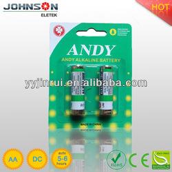 1.5v ultra thin battery aa alkaline battery
