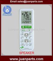 SPEAKER universal air conditioner remote control codes