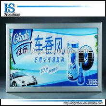 led light box display,wall mounted slim light box for advertising