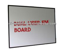 65'' 78'' 82'' 85'' 100'' Dual pen driven digital interactive magnetic board / magnetic boards