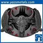 Buffalo Skull Belt Buckle/Buffalo Skull Belt Buckles