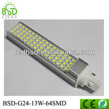 13w smd5050 g24 led plc light replace 26w cfl plc