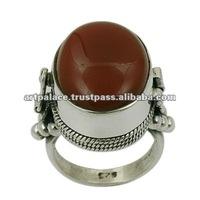 Gemstone 925 Sterling Silver Jewellery,Latest Designer Silver Ring Jewelery