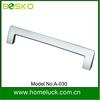 Ironmongery 206mm furniture handle zamak with Nickel plating