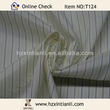 Black Yellow White Striped Patterned Woven Lining Fabrics