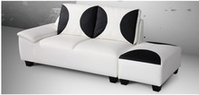 fancy corner sofa furniture, high quality sofa set with stool