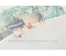 Hello Kitty,Crown,Angel Wing Stud Earring Fashion Korean Jewelry