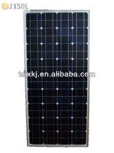JX 140W monocrystalline solar panel/high efficiency/hot sale/tuv/cec
