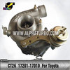 High Quality Turbocharger CT26 Toyota 1HD-T Engine 17201-17010 turbo for Landcruiser TD(HDJ80,81)