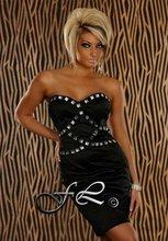 NEW Woman Evening Dress BLACK