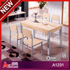 A1231 high quality East Asia family compact kitchen table