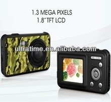 2013 1.3mega pixels digital gift camera with 1.8'' TFT displayer