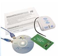 STM Development kit for M24LRxx Dual Interface EEPROMs STARTKIT-M24LR-A