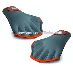 Neoprene swim gloves